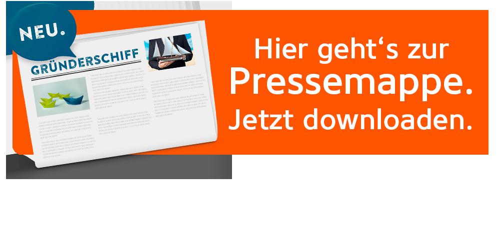 Gründerschiff Pressemappe