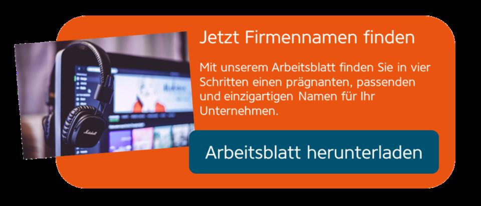 Name für Einzelunternehmen – Vorschriften und Tipps | Gründerschiff