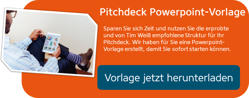 Pitch Deck PPT-Vorlage