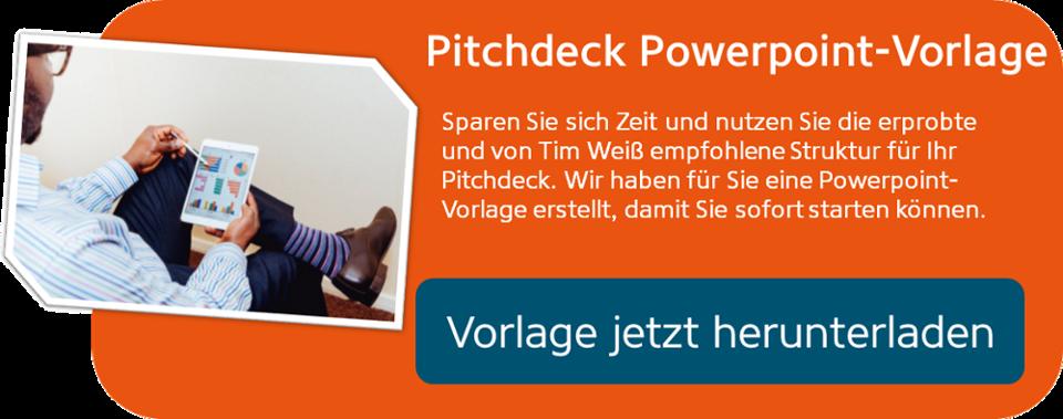 Pitch Deck PPT-Vorlage