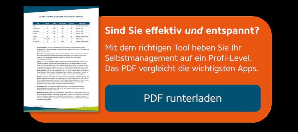 Task Management Apps im Vergleich - Download