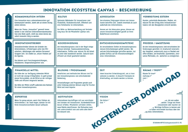 Innovation Ecosystem Canvas
