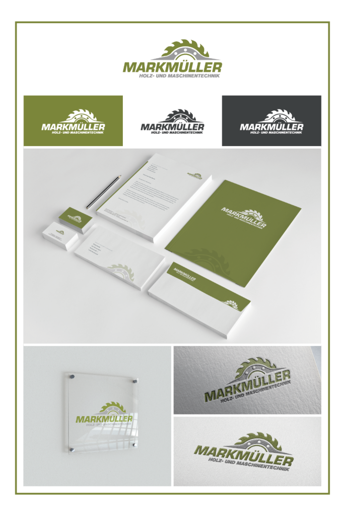 Corporate Design von Mark Müller