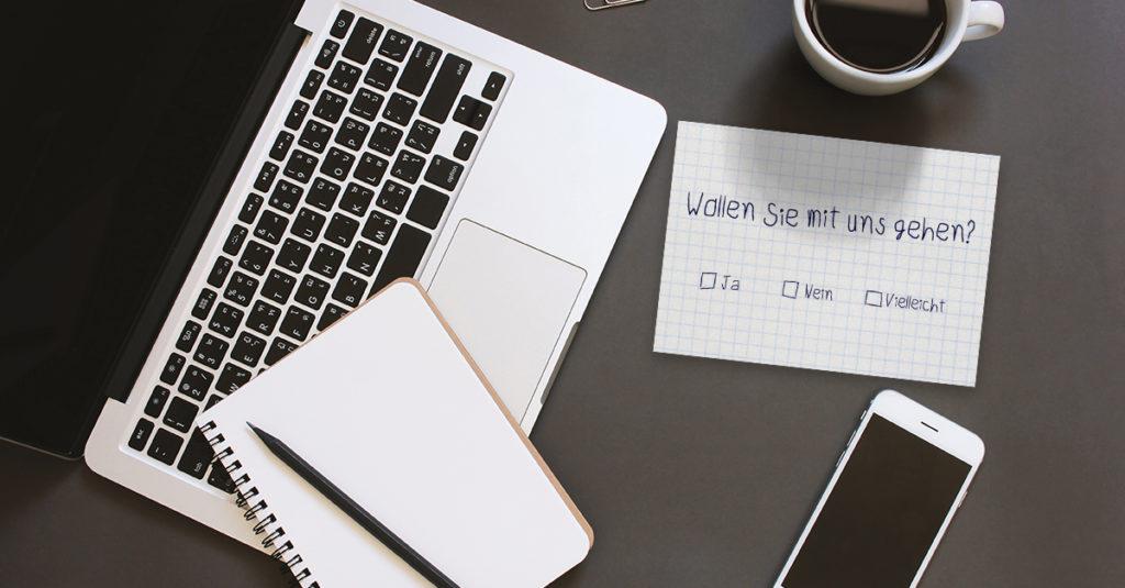 Empfängerdaten für postalische Mailings